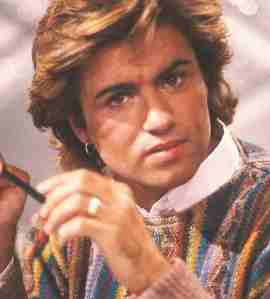 George Michael picture from the 80s